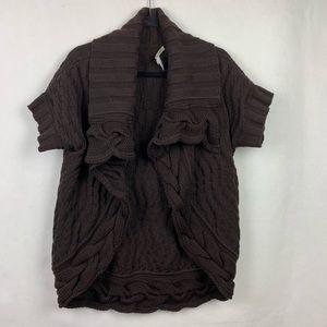 Diane Von Furstenberg Cable Knit Cardigan Sweater